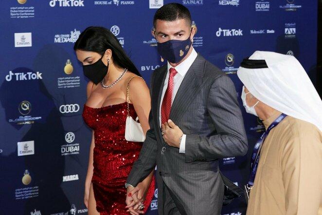 Cristiano Ronaldo ir Georgina Rodriguez | Scanpix nuotr.