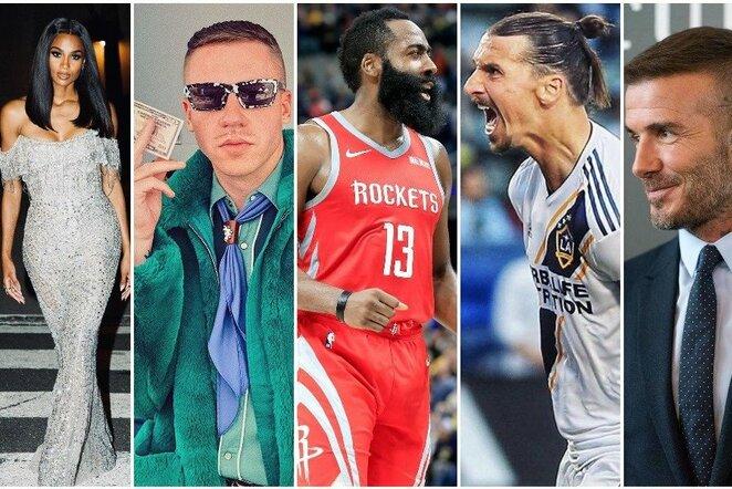 Zlatanas Ibrahimovičius ir MLS investuotojai | Instagram.com nuotr