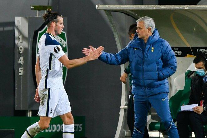 Garethas Bale'as ir Jose Mourinho | Scanpix nuotr.