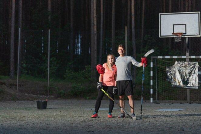 Rugilė ir Linas Paražinskai   Kipro Štreimikio nuotr.