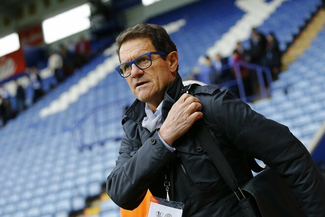 Fabio Capello | Scanpix nuotr.