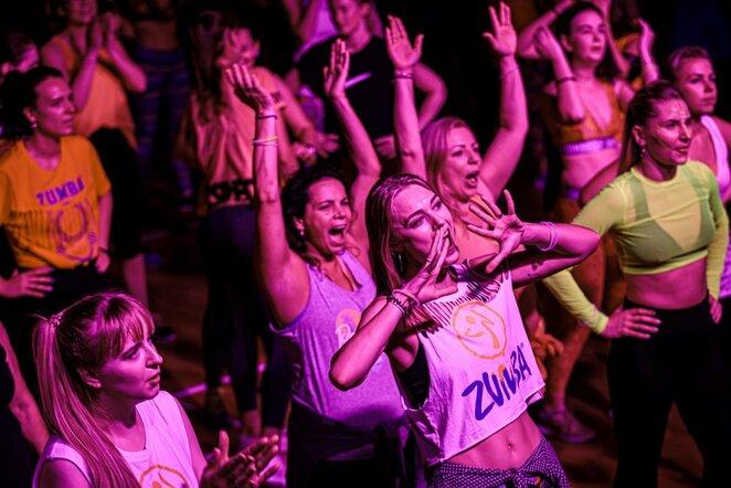 Didysis Zumba maratonas sugrįžta su saugia ir nuotaikinga programa   Manto Gudzinevičiaus nuotr.