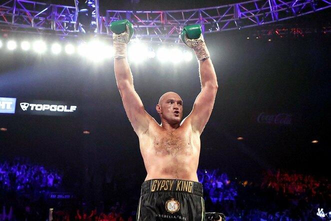 Tysonas Fury | Scanpix nuotr.