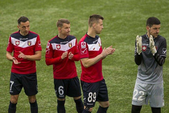 """""""Riterių"""" ir """"Dainavos"""" rungtynės   Roko Lukoševičiaus/BNS Foto nuotr."""