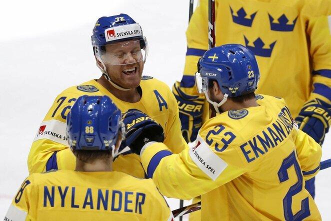 Švedijos ledo ritulio rinktinė | Scanpix nuotr.