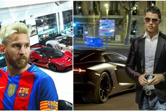 Lionelis Messi prieš Cristiano Ronaldo | Youtube.com nuotr.