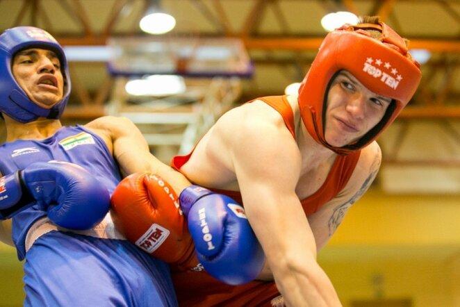 Dano Pozniako bokso turnyras Sauliaus Čirbos nuotr.