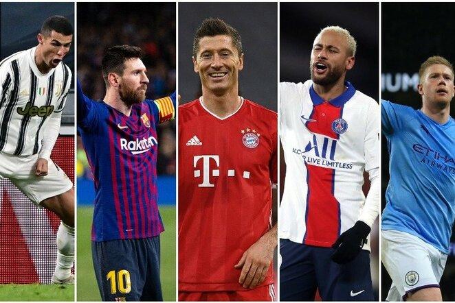 Geriausi pasaulio futbolininkai   Scanpix nuotr.