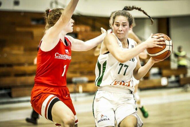 Lietuvos jaunių merginų krepšinio rinktinė | FIBA nuotr.