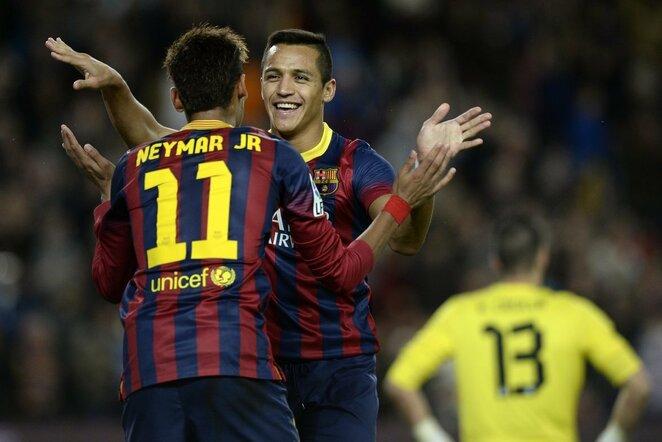 Neymaras ir Alexis Sanchezas | Scanpix nuotr.