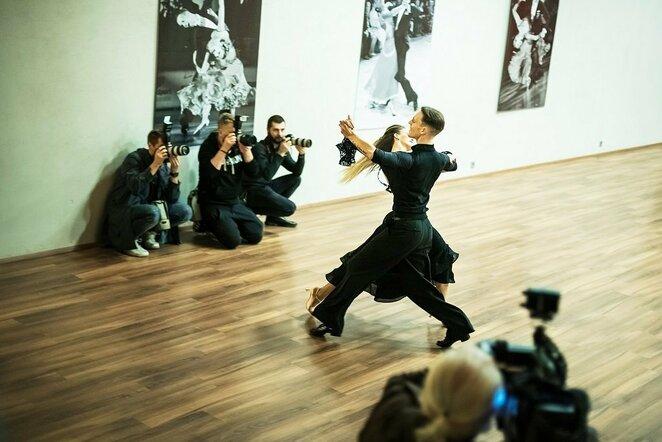 Atviroje treniruotėje sužibėjo Lietuvos šokėjų poros | Gretos Vaisėtaitės nuotr.