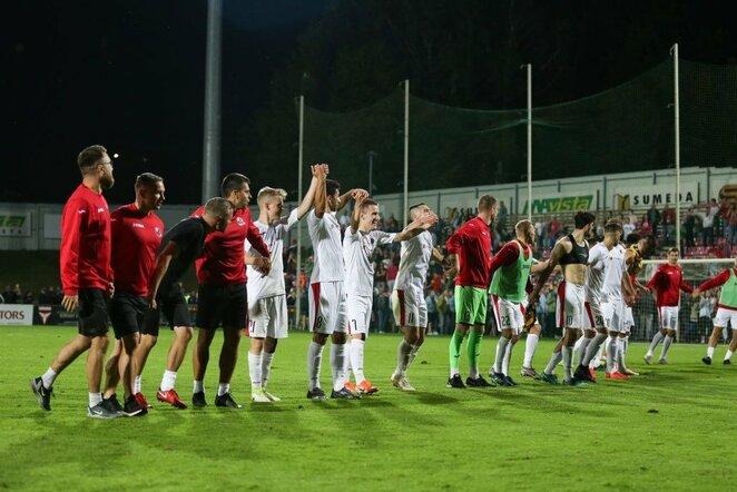 """""""Sūduvos"""" ir """"Maccabi"""" rungtynės Mariaus Vizbaro / BNS foto nuotr."""