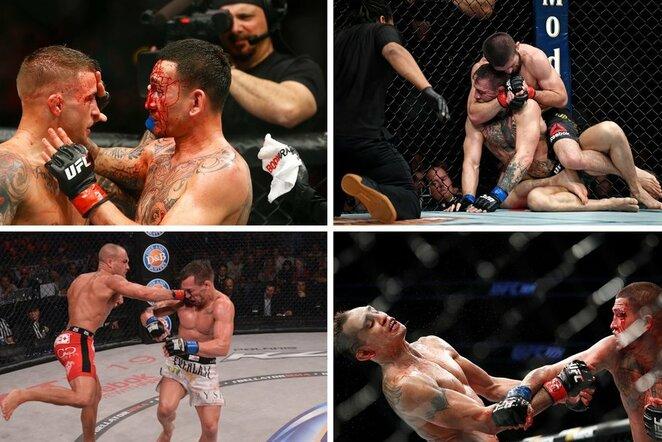 MMA lengvo svorio kategorijos kovos | Scanpix nuotr.
