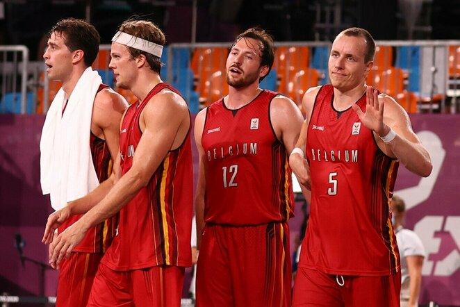 Belgijos 3x3 krepšinio rinktinė | Scanpix nuotr.