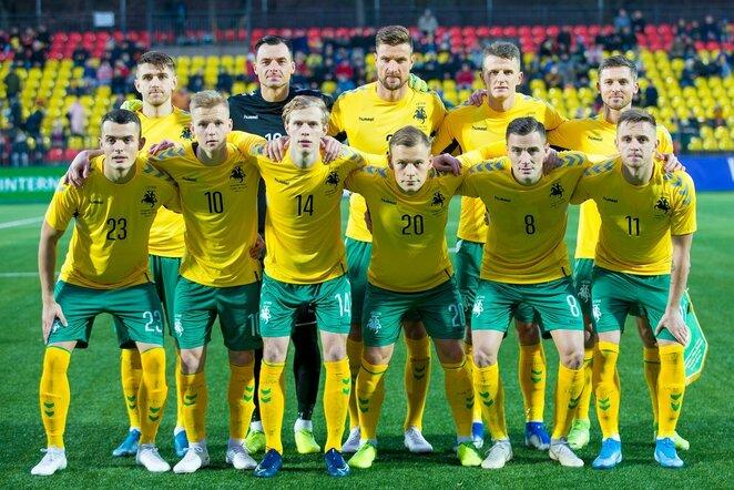Lietuvos rinktinė | LFF.lt nuotr.