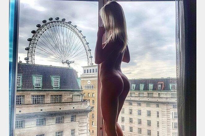 Nela Slovakova   Instagram.com nuotr