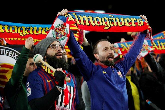"""Barcelona"" sirgaliai | Scanpix nuotr."