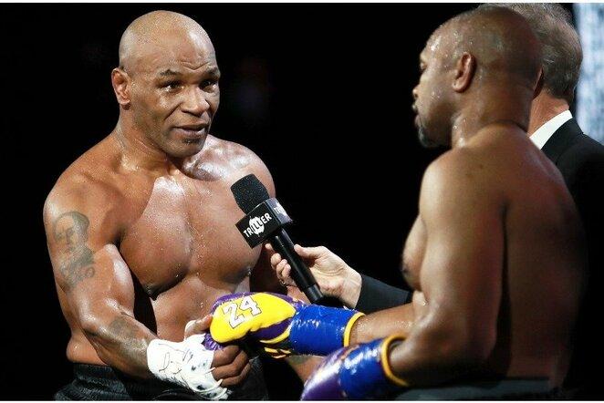 Mike'as Tysonas ir Roy Jonesas   Scanpix nuotr.