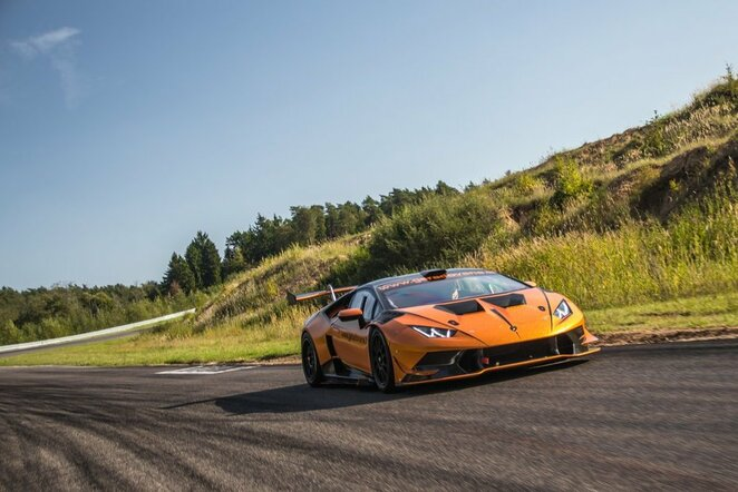 """Lamborghini Huracan Super Trofeo GT""   Organizatorių nuotr."