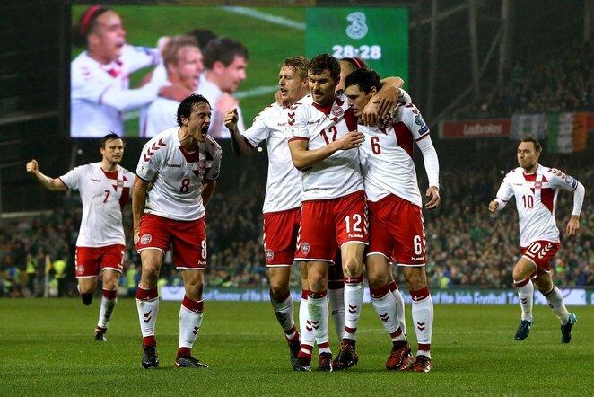 Pasaulio čempionato atranka: Airija - Danija (2017.11.14)   Scanpix nuotr.
