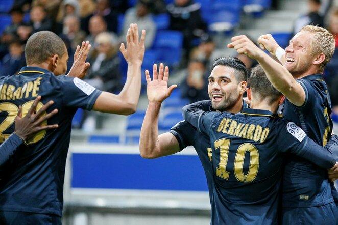 """Lyon"" – ""Monaco"" rungtynių akimirka   Scanpix nuotr."