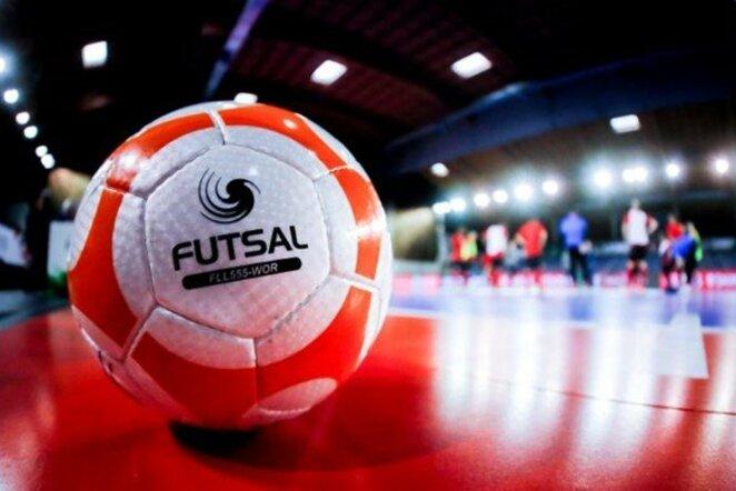 Futsal kamuolys Stop kadras
