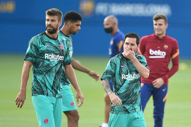 Gerardas Pique ir Lionelis Messi | Scanpix nuotr.