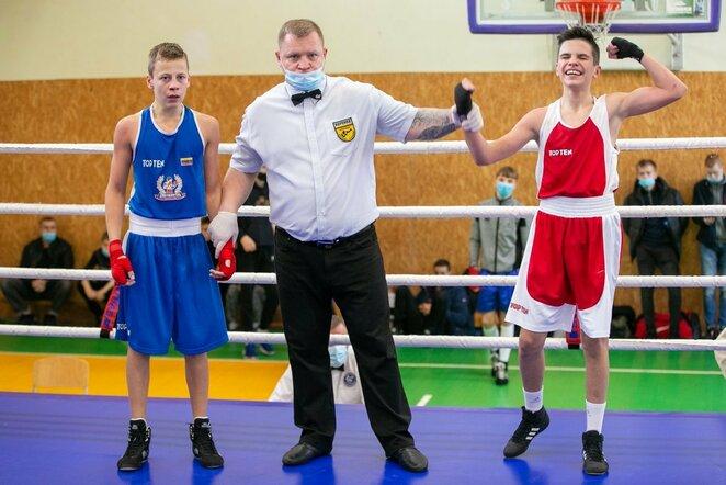 Lietuvos jaunių bokso čempionatas | Sauliaus Čirbos nuotr.
