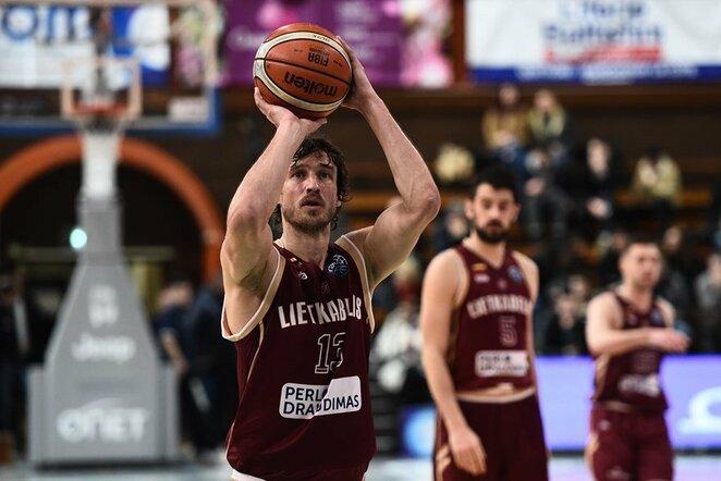 "JDA - ""Lietkabelis"" rungtynių akimirka | FIBA nuotr."