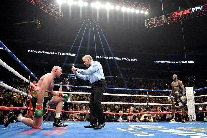 Deontay Wilderis prieš Tysoną Fury | Scanpix nuotr.