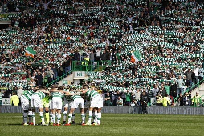 """Celtic"" futbolininkai   Scanpix nuotr."
