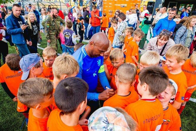 Nyderlandų futbolo legendos apsilankys Lietuvoje | Organizatorių nuotr.
