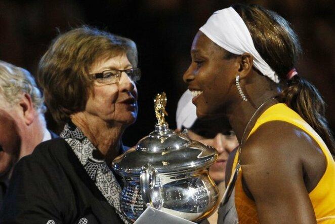 Margaret Court ir Serena Williams | Scanpix nuotr.
