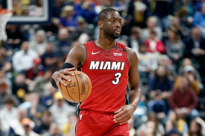 Dwyane'as Wade'as | Scanpix nuotr.