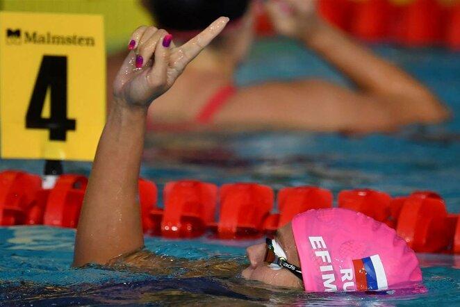 Europos plaukimo čempionatas   Scanpix nuotr.