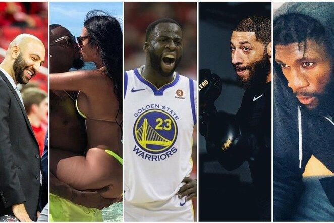 Aukščiau už D.Greeną pašauktų NBA žaidėjų likimai: nuo MMA iki ankstyvos mirties | Scanpix nuotr.