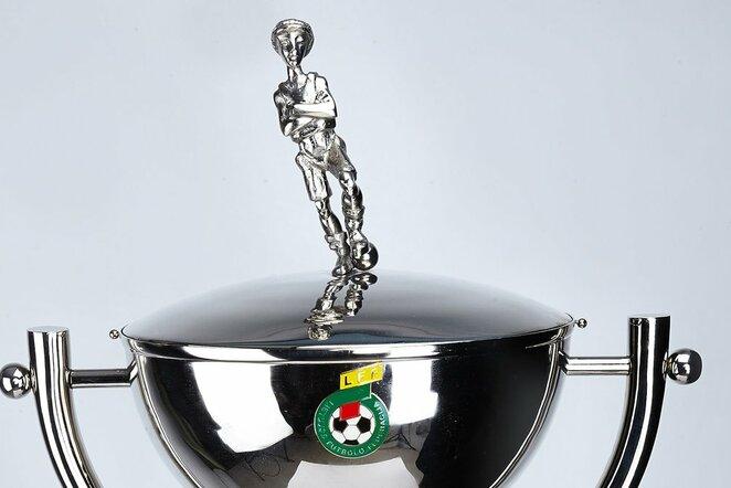 """LFF taurė """"Sportas gyvai"""" nuotr."""