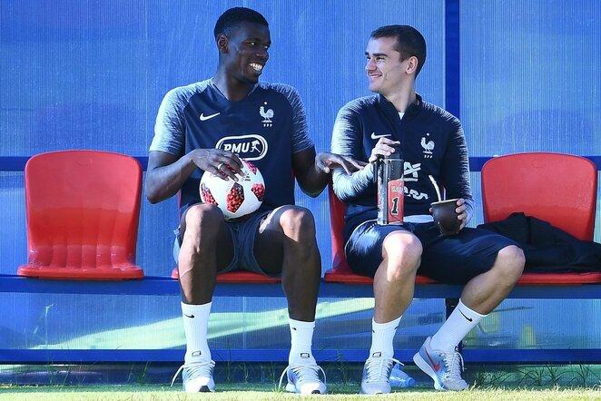 Paulas Pogba ir Antoine'as Griezmannas | Scanpix nuotr.