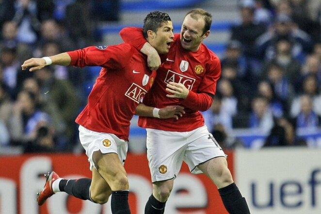 Cristiano Ronaldo ir Wayne'as Rooney | Scanpix nuotr.