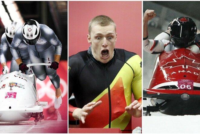 Olimpiniai prizininkai   Scanpix nuotr.