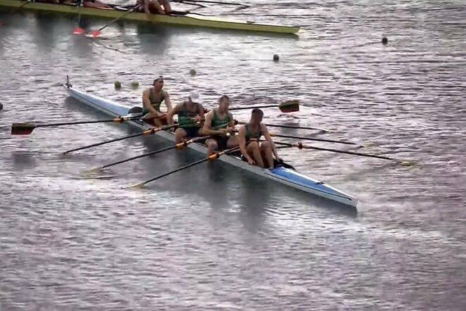 Povilas Juškevičius, Arnedas Kelmelis, Rokas Jakubauskas ir Benas Paunksnis | Youtube.com nuotr.