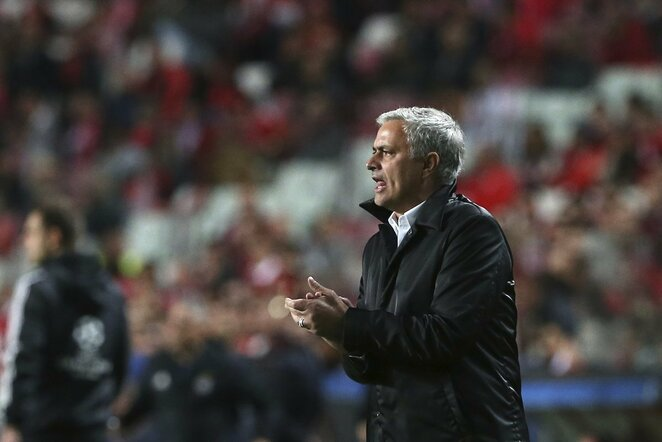 "UEFA Čempionų lyga: Lisabonos ""Benfica"" - ""Manchester United"" (2017.10.18) | Scanpix nuotr."