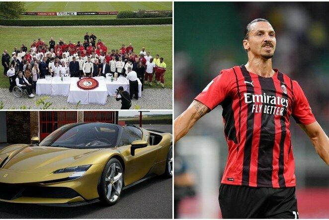 """Zlatanas Ibrahimovičius   """"Scanpix"""" ir instagram.com nuotr."""