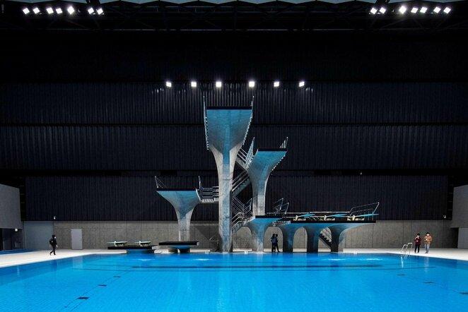 Šuolių į vandenį platforma | Scanpix nuotr.