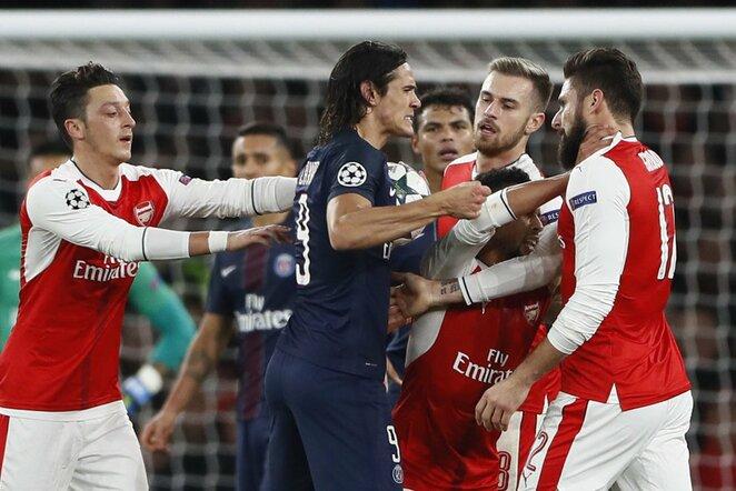 "PSG – ""Arsenal"" rungtynių akimirka | Scanpix nuotr."
