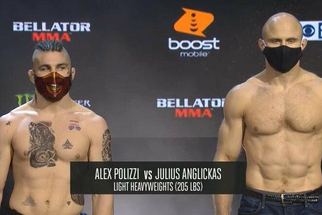 Alexas Polizzi ir Julius Anglickas | Youtube.com nuotr.