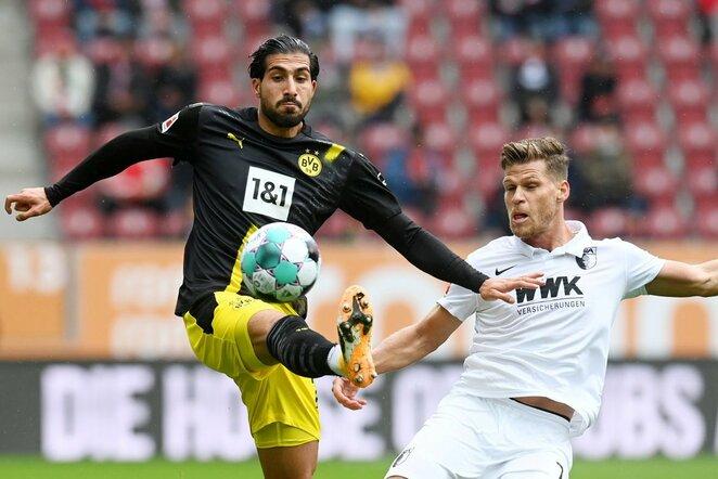 """Augsburg"" –""Borussia"" rungtynių akimirka   Scanpix nuotr."