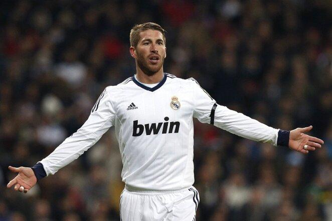 Sergio Ramosas | EFE/Scanpix nuotr.