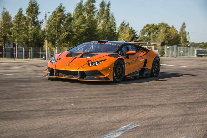 """Lamborghini Huracan Super Trofeo GT"" | Organizatorių nuotr."