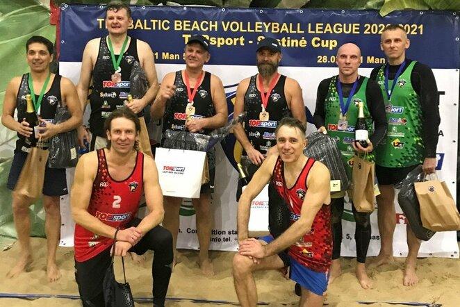 Trečiasis Baltijos veteranų paplūdimio tinklinio čempionato etapas | Organizatorių nuotr.